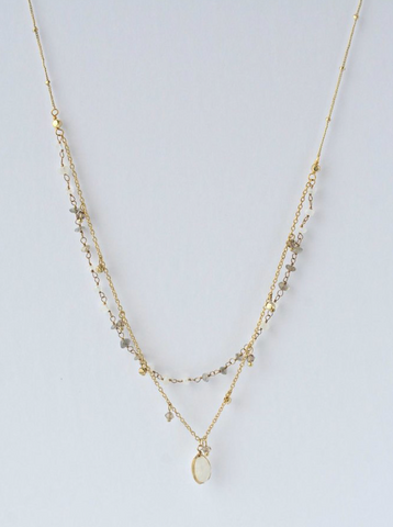 Dainty Firefly Necklace