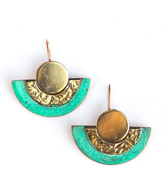 Pueblo Patina Earrings