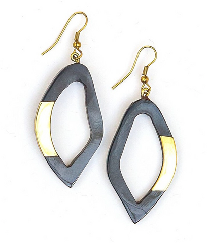Free Form Horn Earrings