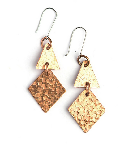 Eileen Copper Earrings