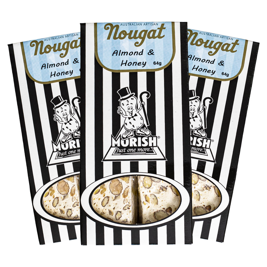 Almond & Honey Café Bites Nougat