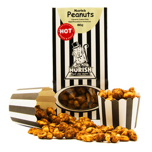 Caramel Coated Peanuts - Hot & Spicy