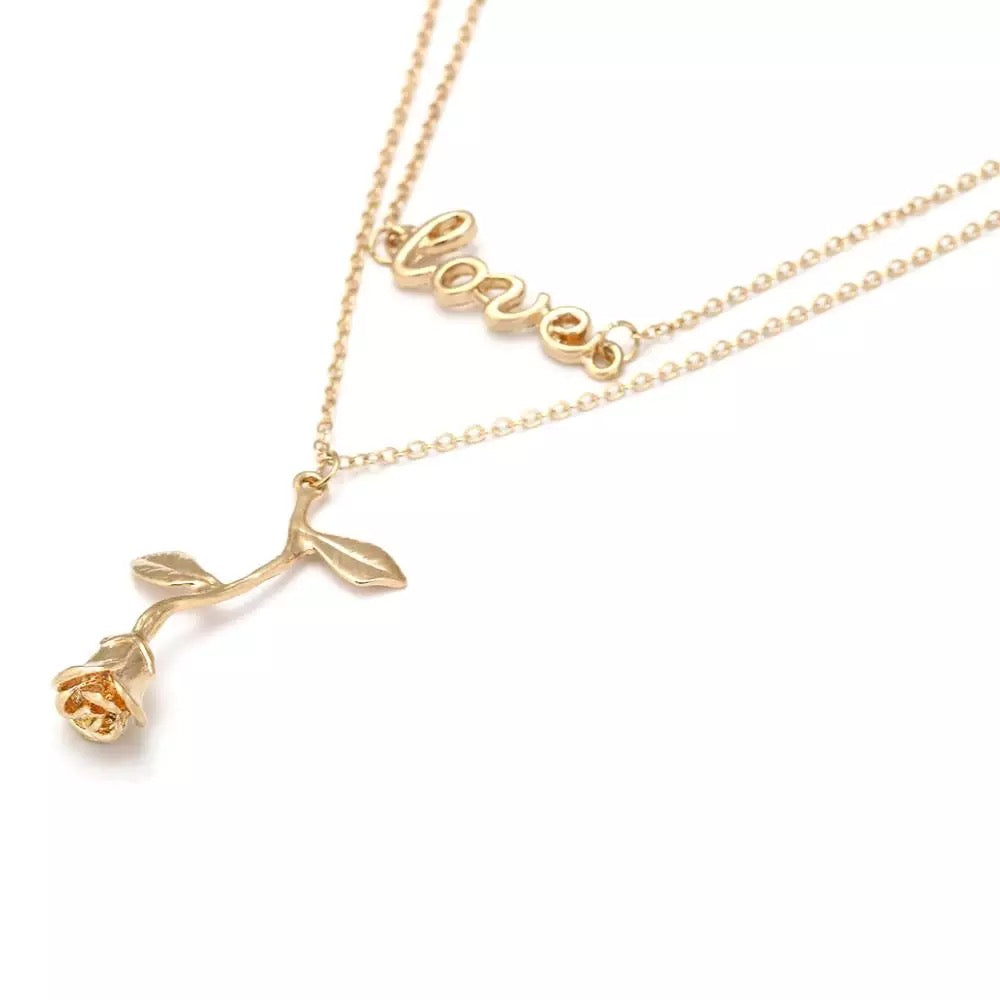 Love You Necklace