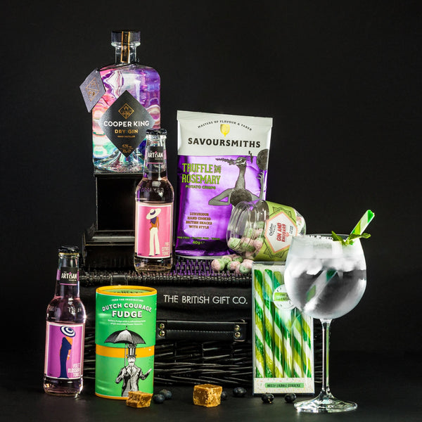 Ginfatuation - Gin Gift Hamper with Pink Tonics & Treats
