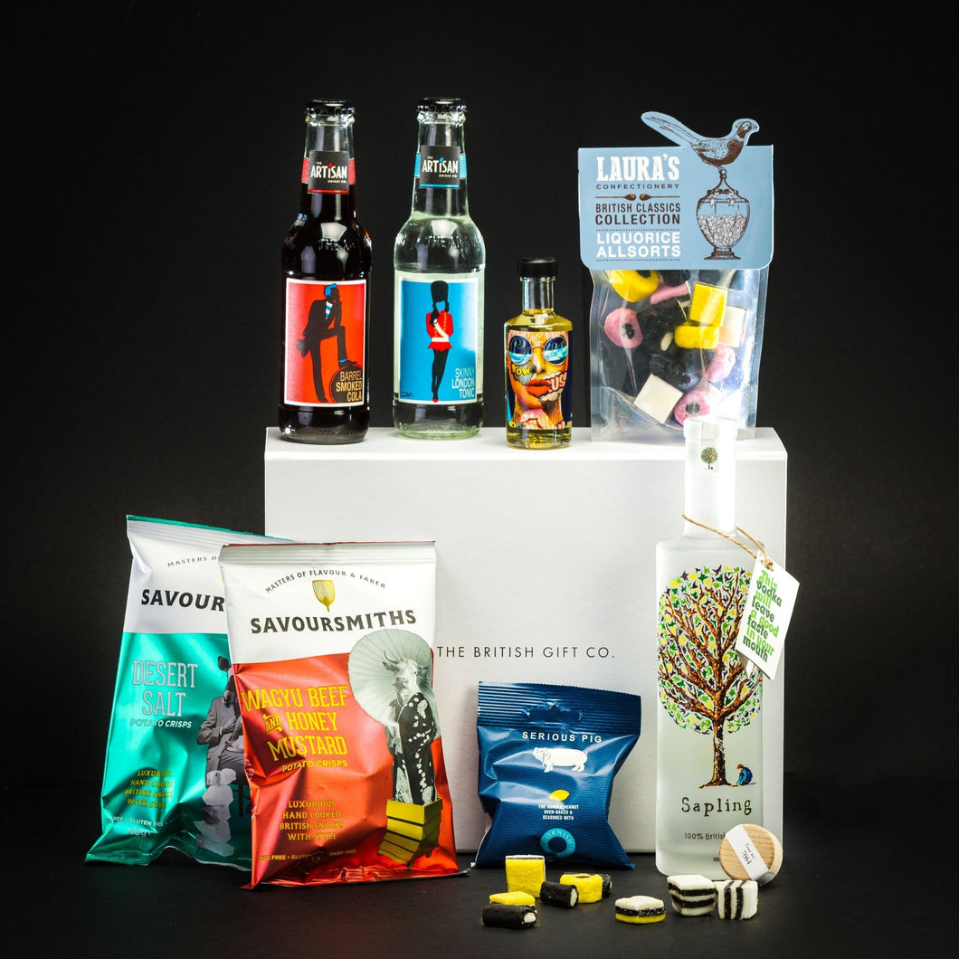 The Curator - Vodka Gift Set with Cola & Bar Snacks