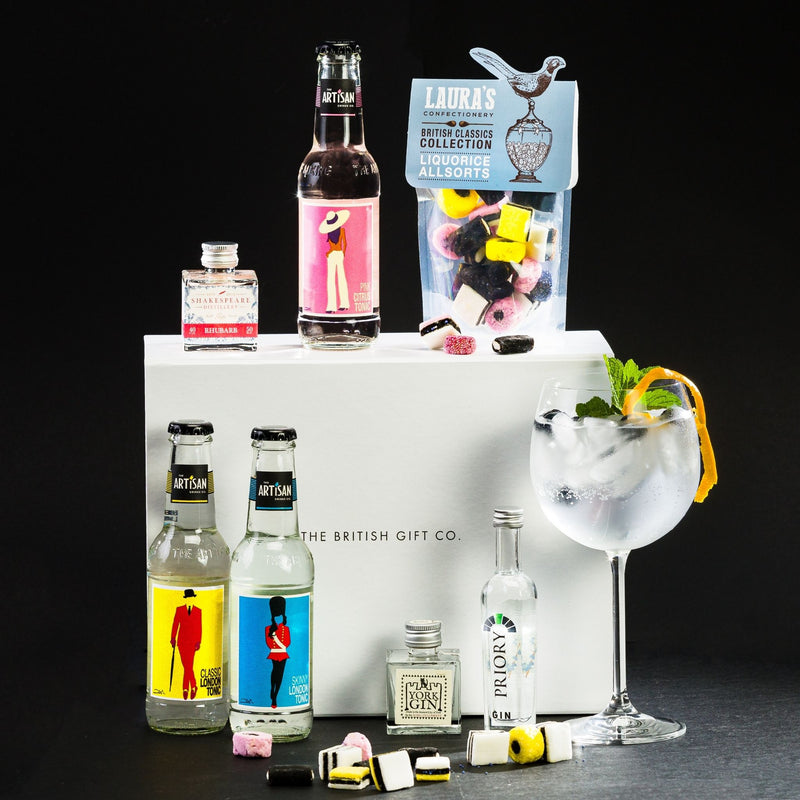Ginquisitive - Miniature Gin Gift Set with Tonics