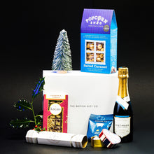 Load image into Gallery viewer, A Christmas Cracker - Christmas Gift Box with Sparkling Wine & Gin Cracker
