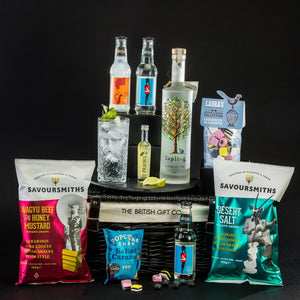 The Thespian - Vodka Gift Basket with Sharing Treats