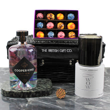 Load image into Gallery viewer, Gin & Chocolate Gift Set with 70cl Gin, Chocolate Bon Bons & Luxury Candle