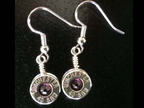 Earrings Dangle Nickel w/Birthstones