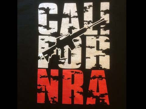 T-Shirt - Cali For NRA