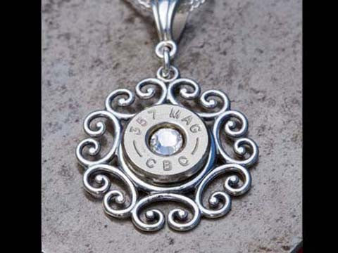 Sterling Silver Pendant Filigree