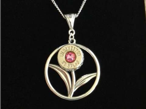 Sterling Silver Pendant Flower