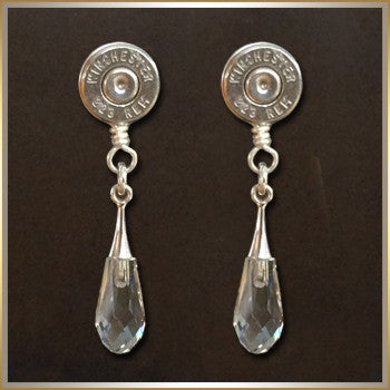 Earrings w/Swarovski Drops