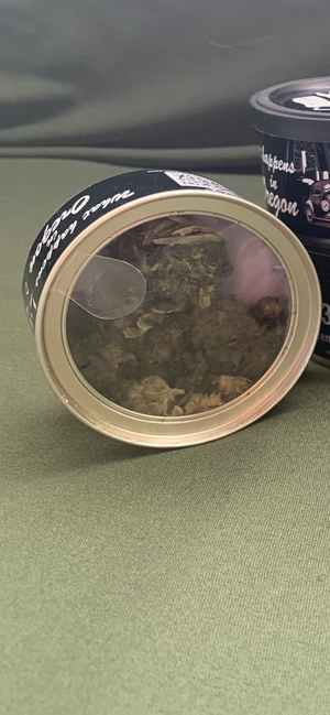 CBD Flower In Can