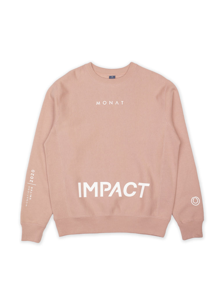 IMPACT Pink Crew Neck Sweater
