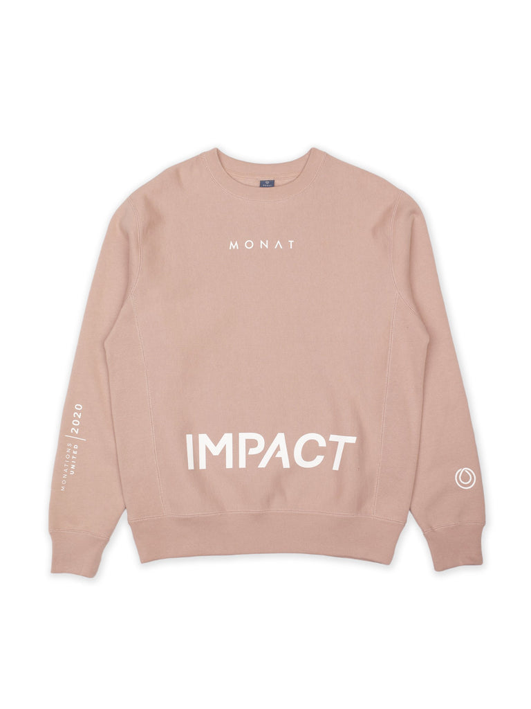 VIP Impact Pink Crew Neck Sweater