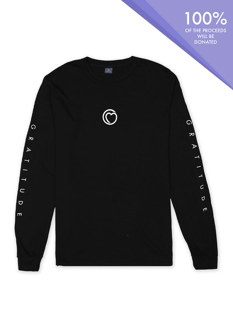 Gratitude Long Sleeve Tee by Monat Gear