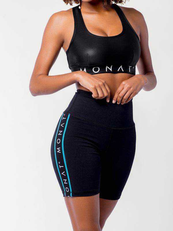 MONAT High Waist Biker Short Black
