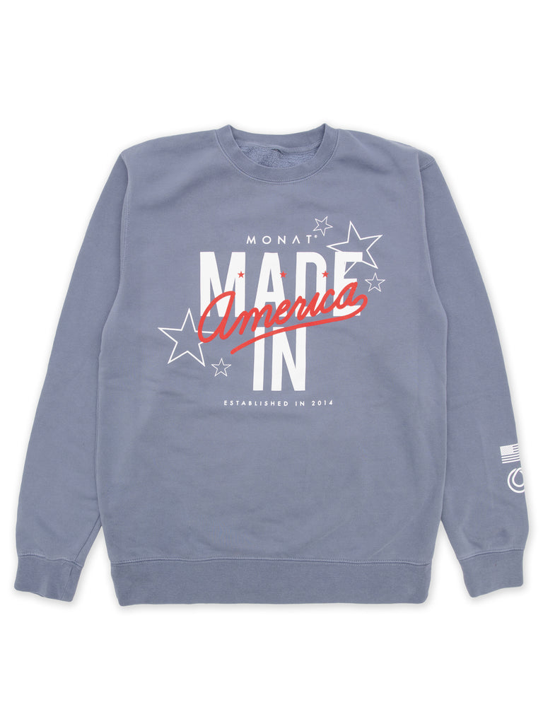 Monat Made In America Sweatshirt by Monat Gear