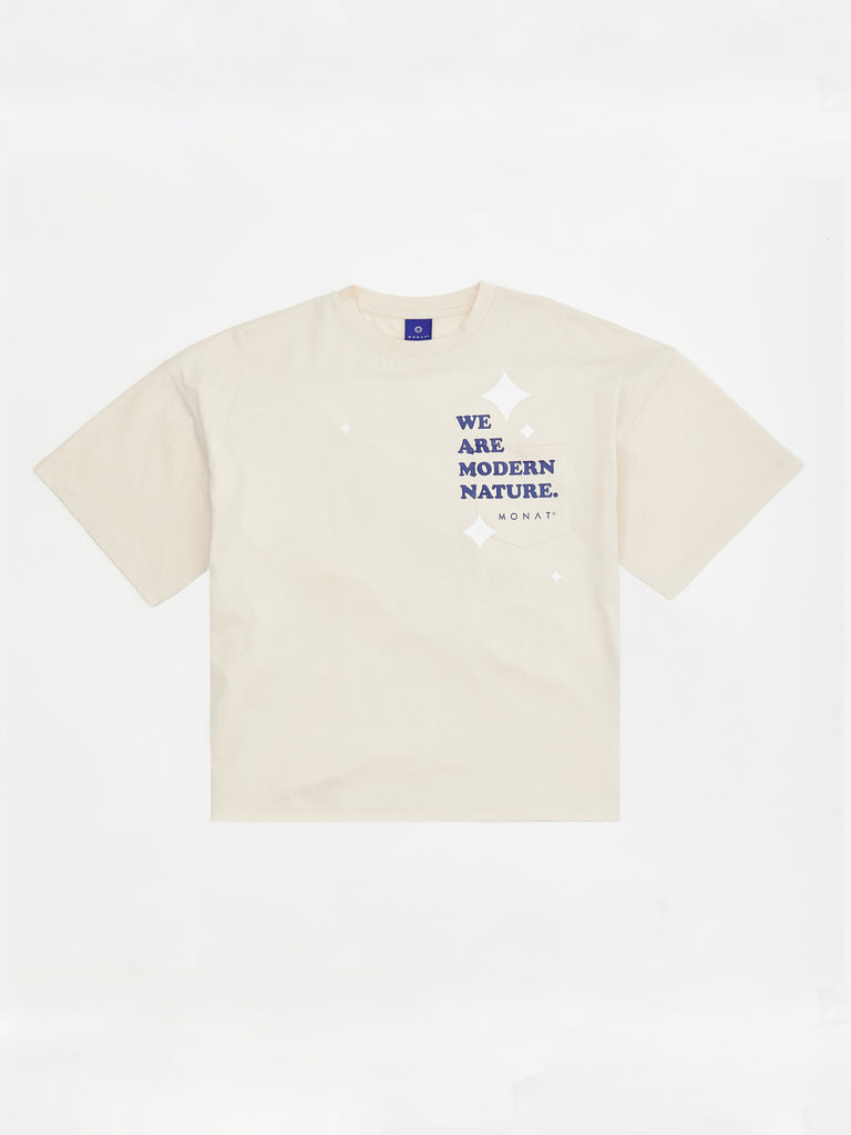 MODERN NATURE BOYFRIEND POCKET TEE