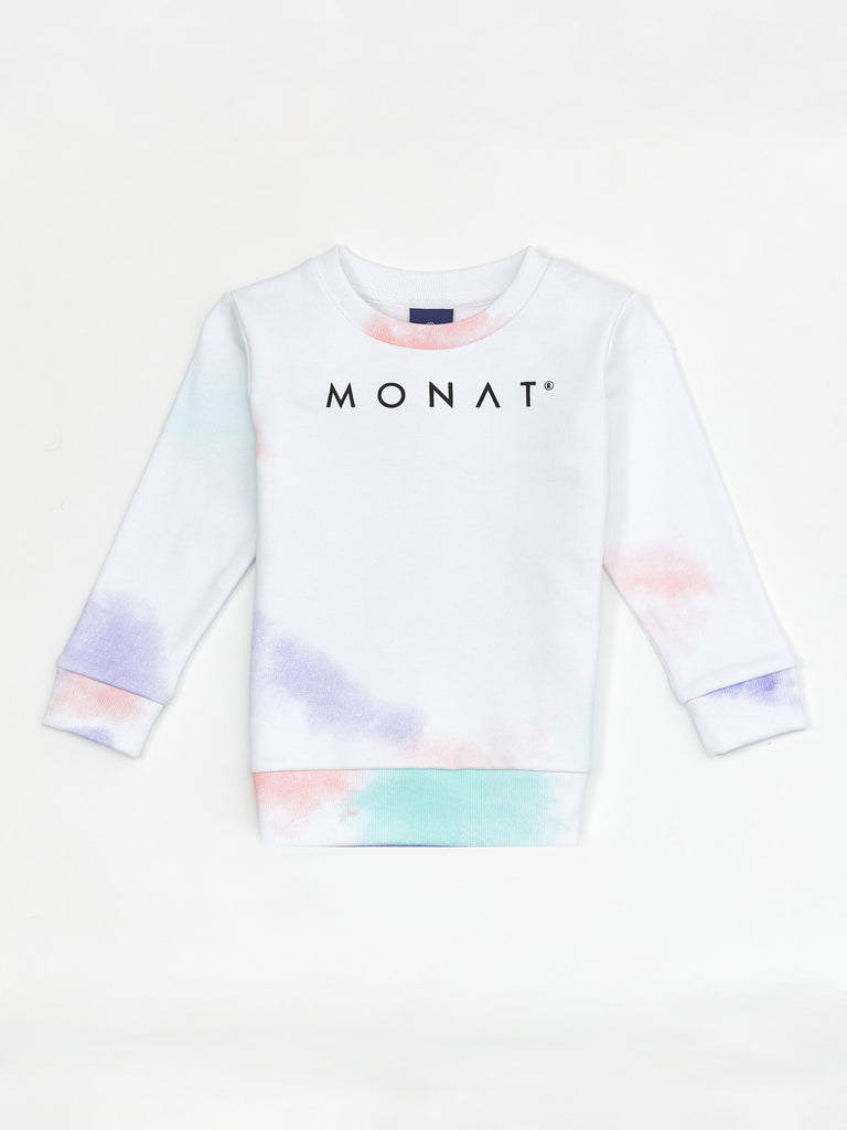 MONAT TIE DYE JUNIOR SWEATSHIRT