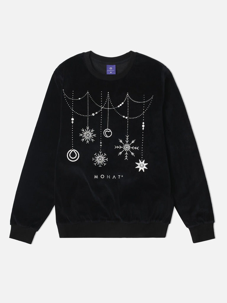 Monat Holiday Sweater - Black