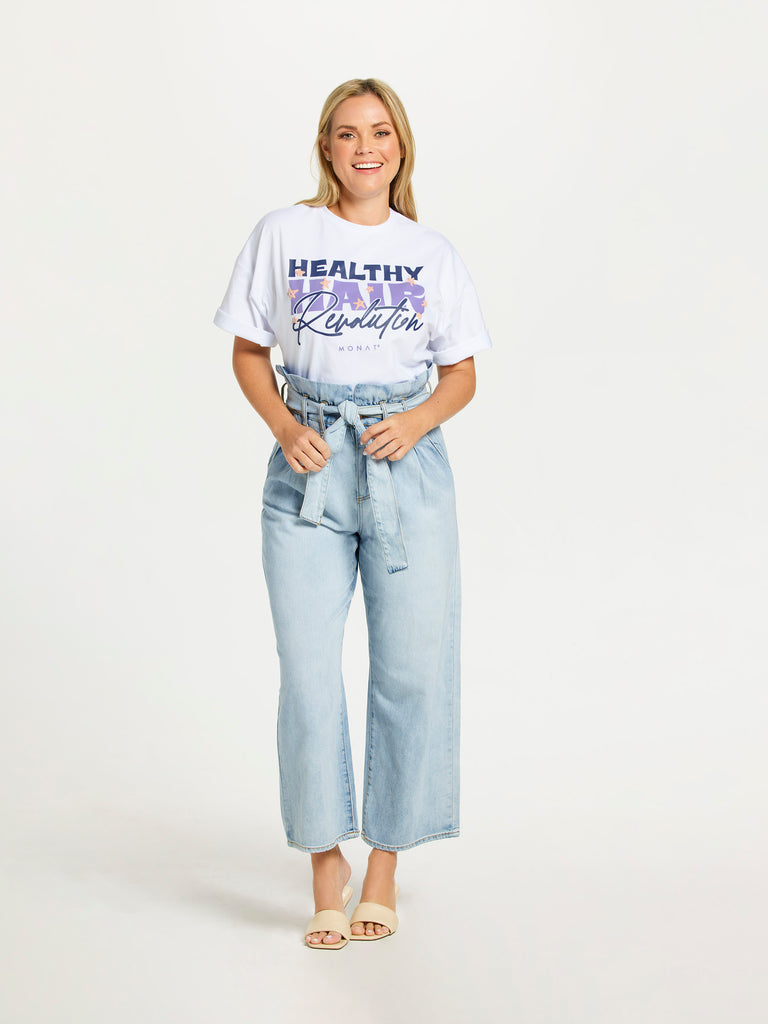 MONAT Healthy Hair Oversized Tee