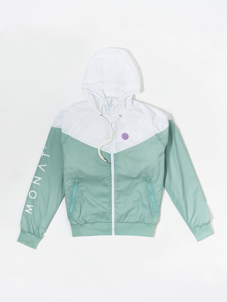 MONAT WINDBREAKER ZIP UP HOODIE