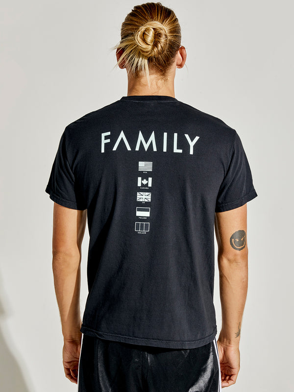 Monat Family Flags Tee by Monat Gear