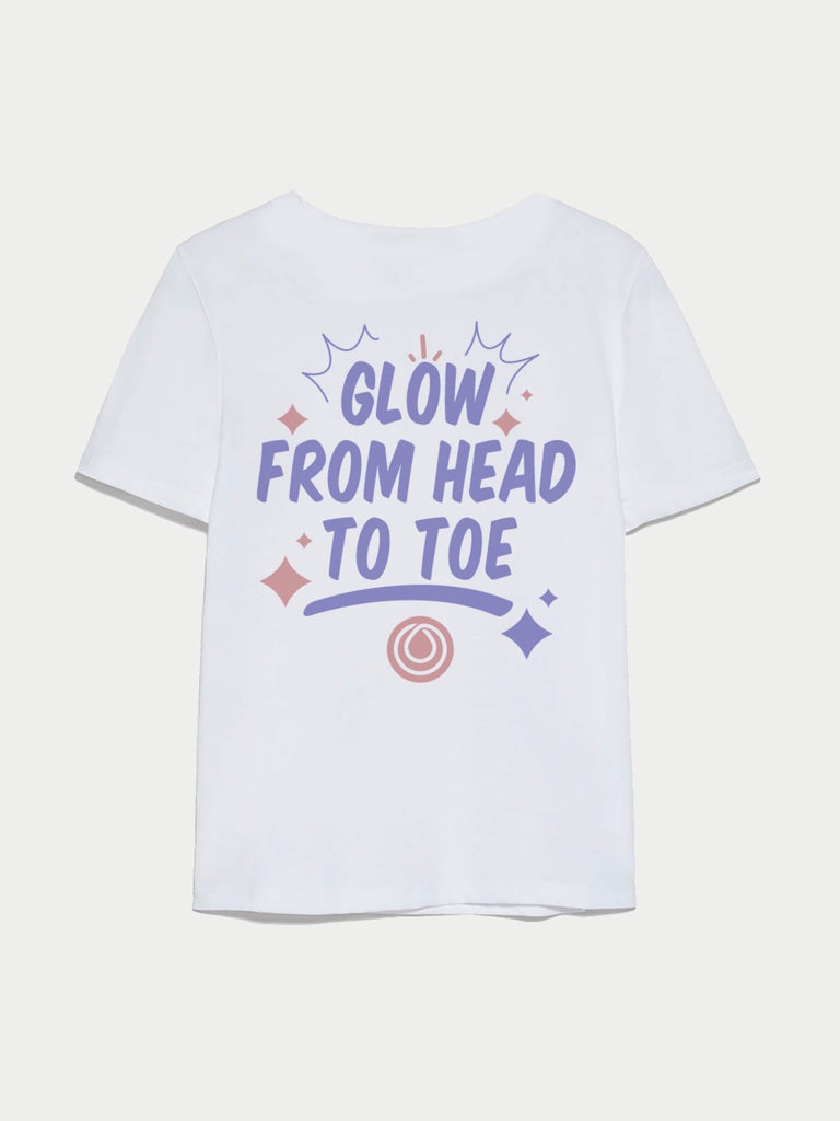 GLOW FROM HEAD TO TOE TEE