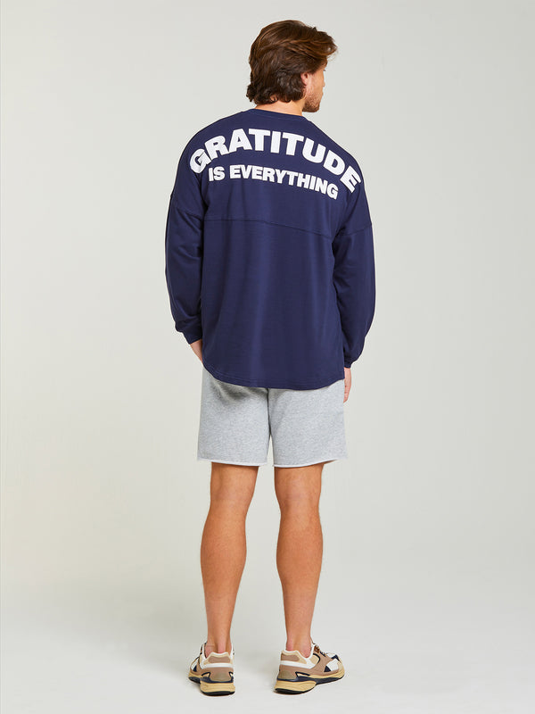 GRATITUDE LONG SLEEVE TOP