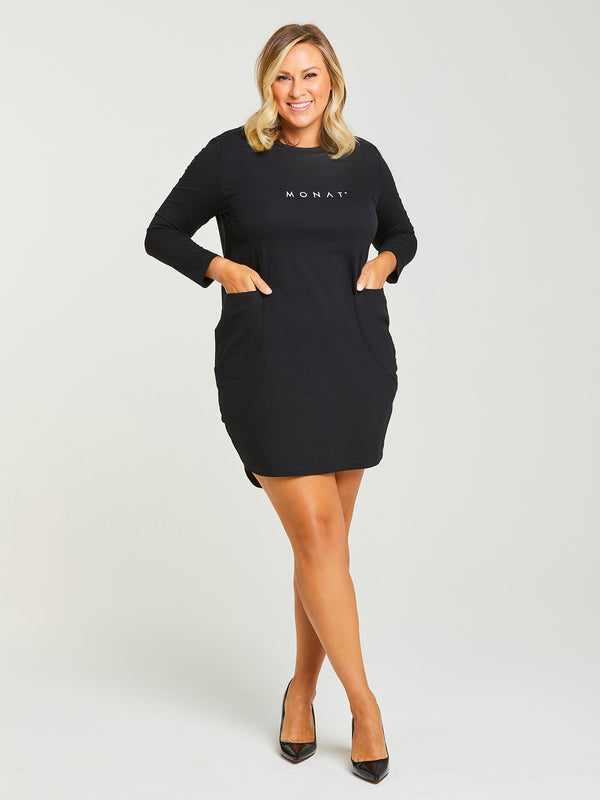 MONAT SHIRT DRESS