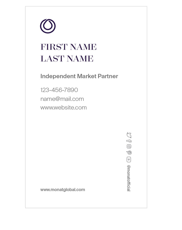 Standard Business Card