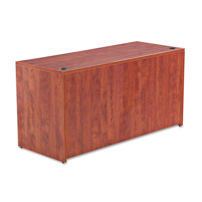 Alera Valencia Series Credenza Shell, 59.13w x 23.63d x 29.5h, Medium Cherry