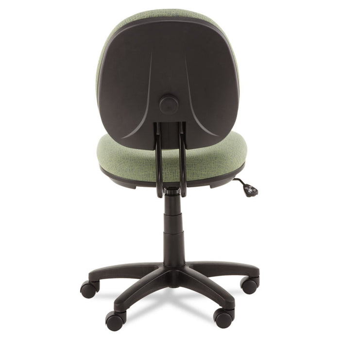 Alera Interval Series Swivel/Tilt Task Chair, Supports up to 275 lbs., Parrot Green Seat/Parrot Green Back, Black Base