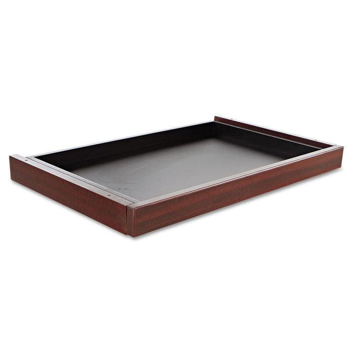 Alera Valencia Series Center Drawer, 24.5w x 15d x 2h, Mahogany