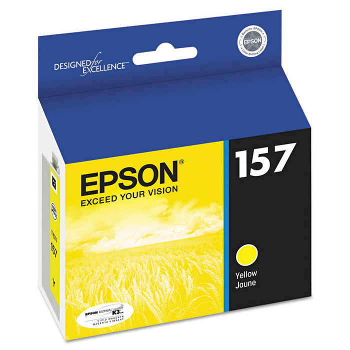T157420 (157) UltraChrome K3 Ink, Yellow