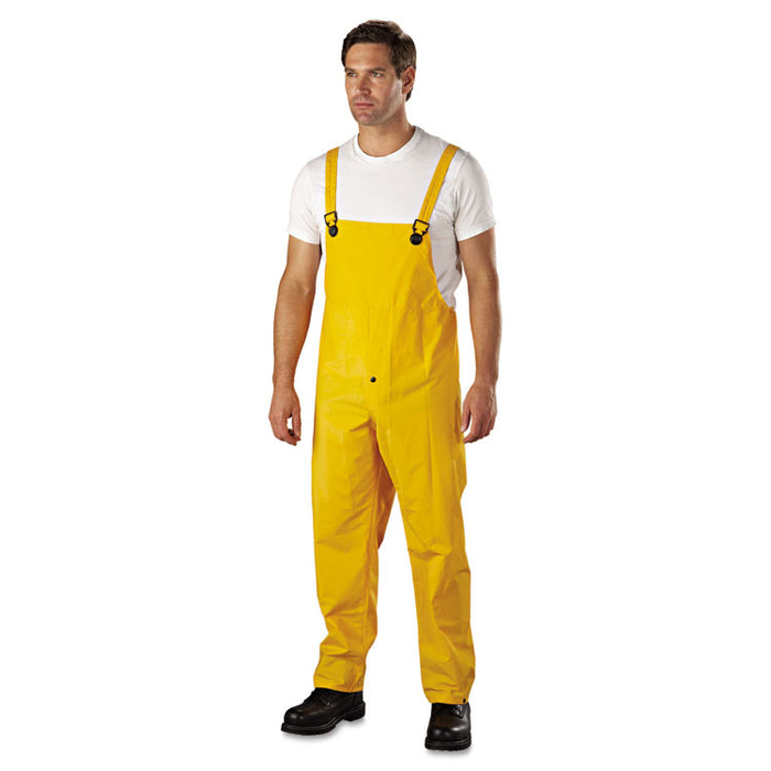 Rainsuit, PVC/Polyester, Yellow, X-Large