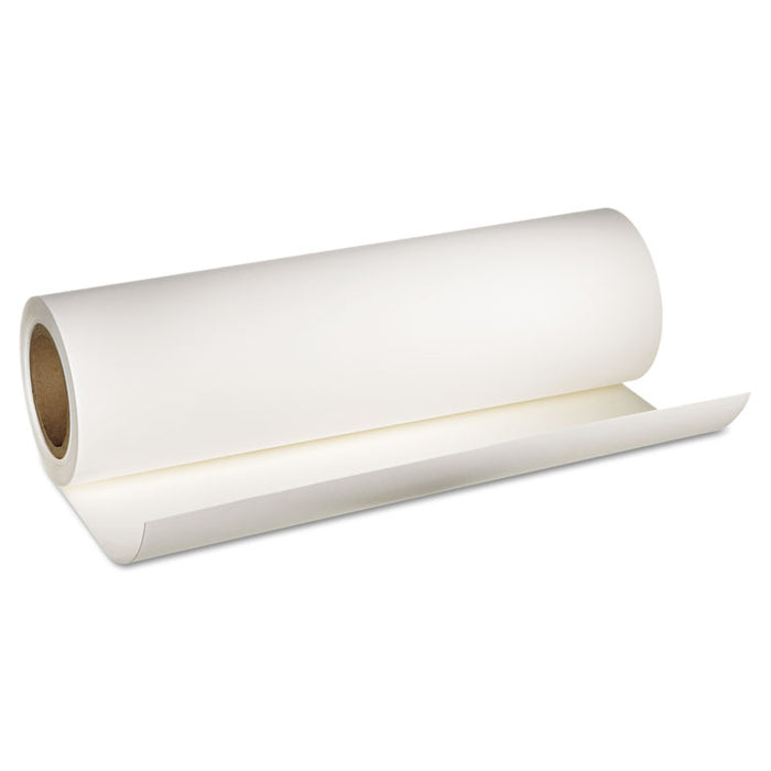 "Hot Press Bright Fine Art Paper Roll, 16 mil, 17"" x 50 ft, Smooth Matte White"