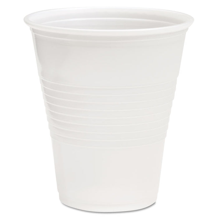 Translucent Plastic Cold Cups, 12 oz, Polypropylene, 20 Cups/Sleeve, 50 Sleeves/Carton