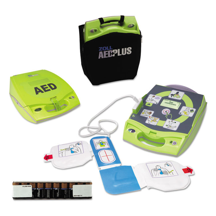 AED Plus Semiautomatic External Defibrillator