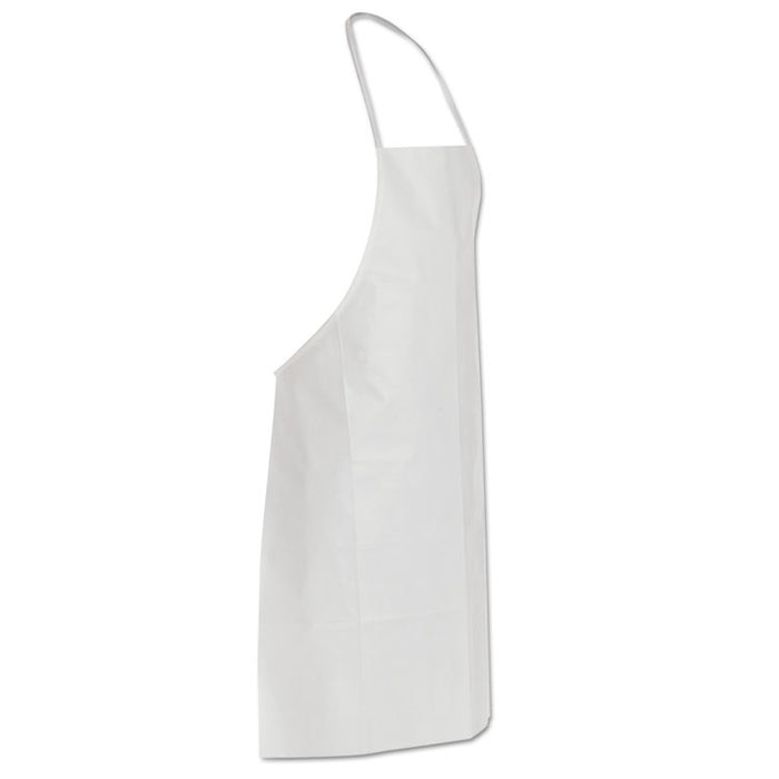 Tyvek Apron, White, One Size Fits All, 100/Carton