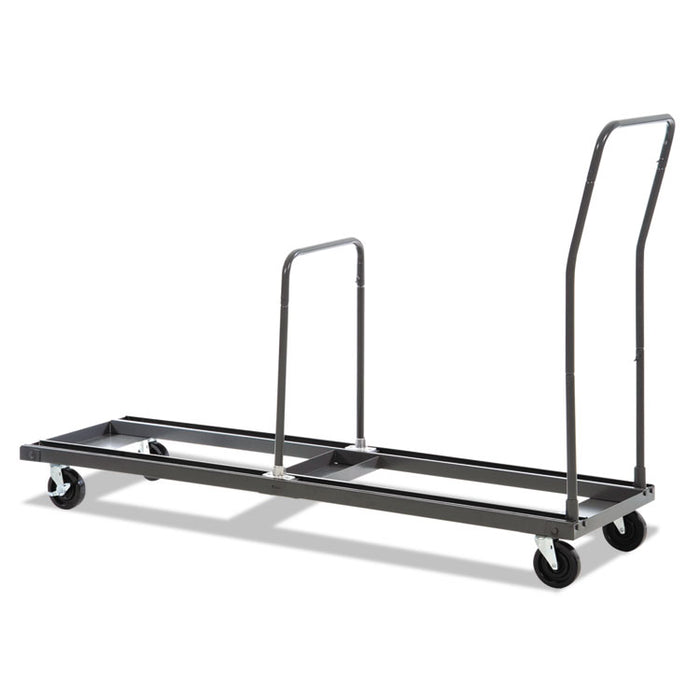 Chair and Table Cart, 20.86w x 50.78 to 72.04d, Black