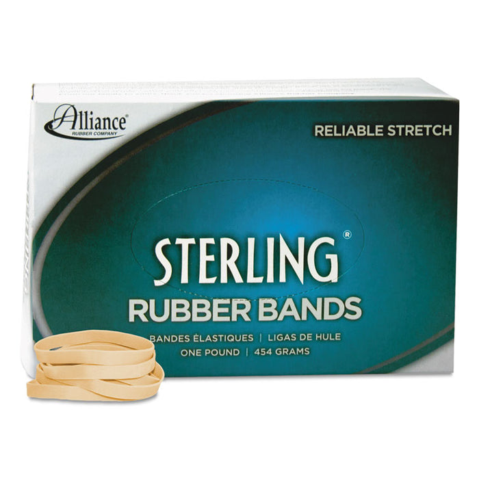 "Sterling Rubber Bands, Size 62, 0.03"" Gauge, Crepe, 1 lb Box, 600/Box"