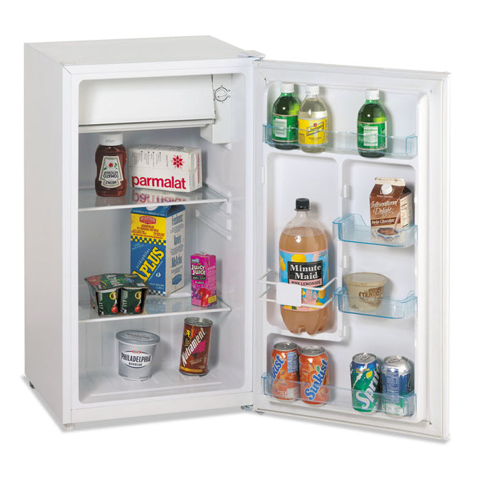 3.3 Cu.Ft Refrigerator with Chiller Compartment, White
