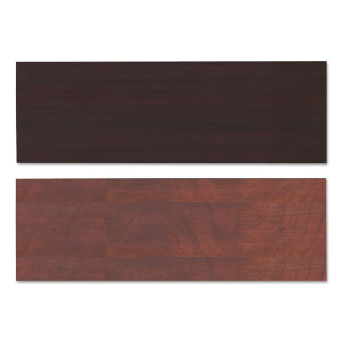 Reversible Laminate Table Top, Rectangular, 71 1/2w x 23 5/8,Med Cherry/Mahogany