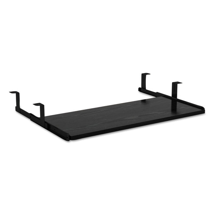 Alera Valencia Series Underdesk Keyboard/Mouse Shelf, 28w x 12d, Black