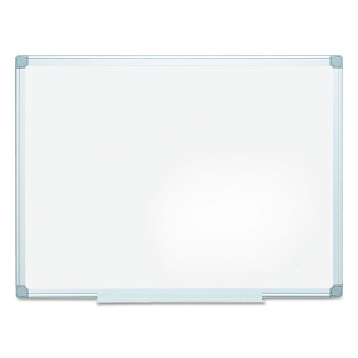 Earth Easy-Clean Dry Erase Board, White/Silver, 36x48