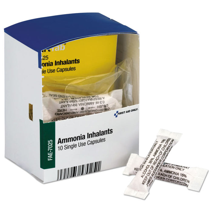 Refill for SmartCompliance General Business Cabinet, Ammonia Inhalants, 10/Box